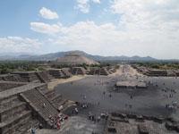 メキシコシティ近郊のテオティワカン遺跡の画像026