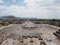 メキシコシティ近郊のテオティワカン遺跡の画像027