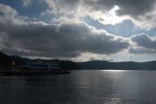 芦ノ湖と遊覧船の画像001