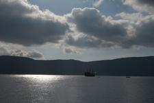 芦ノ湖に浮かぶ海賊船の画像007