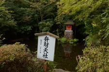 箱根神社の弁財天の池