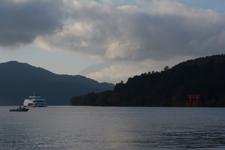 芦ノ湖と遊覧船の画像003