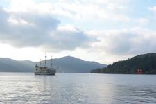 芦ノ湖に浮かぶ海賊船の画像011