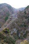 別府峡の山