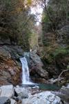 別府峡の妙見滝の画像002