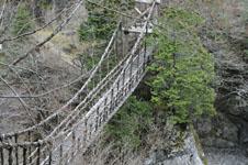 うだつの町並みの吊り橋