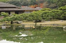 栗林公園の池の画像001