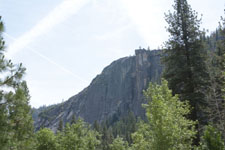 ヨセミテ国立公園の岩山の画像001