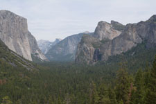 ヨセミテ国立公園の岩山の画像002
