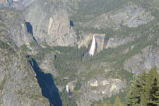 グレイシャー・ポイントからの滝の画像004