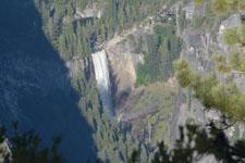 グレイシャー・ポイントからの滝の画像005