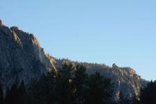 ヨセミテ国立公園の岩山の画像009