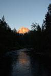 ヨセミテ国立公園のハーフドームの画像002