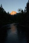 ヨセミテ国立公園のハーフドームの画像003