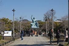 長崎の平和祈念像の画像001