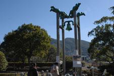 長崎の平和公園の鐘の画像001