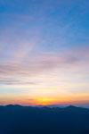 梶ヶ森の朝日の画像002