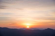 梶ヶ森の朝日の画像006