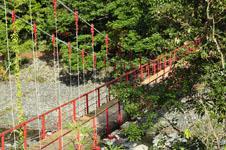 馬路村の橋の画像001