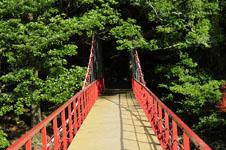 馬路村の橋の画像002