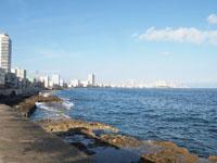 オールド・ハバナの海の画像001