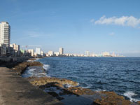 オールド・ハバナの海の画像002