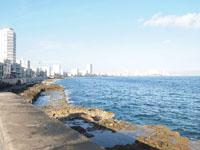 オールド・ハバナの海の画像003