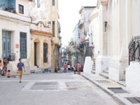 オールド・ハバナの街並みの画像011