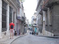 オールド・ハバナの街並みの画像012