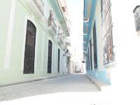 オールド・ハバナの街並みの画像016