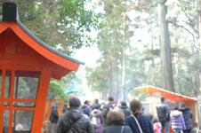 箱根神社の初詣の画像001