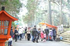 箱根神社の初詣の画像002