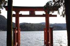 箱根神社の初詣の画像006