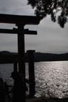 箱根神社の初詣の画像008
