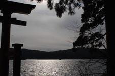 箱根神社の初詣の画像009