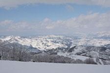 ガーラ湯沢の雪山