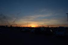 ウォールマートの夕焼けの画像001