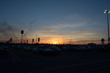 ウォールマートの夕焼けの画像002