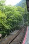 叡山電鉄鞍馬線の貴船口駅の画像001