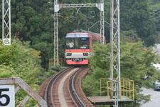 叡山電鉄鞍馬線の貴船口駅の画像003