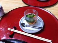 京都府貴船の川床の料理の画像001