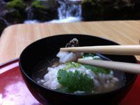 京都府貴船の川床の料理の画像005