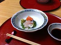 京都府貴船の川床の料理の画像006