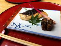 京都府貴船の川床の料理の画像008
