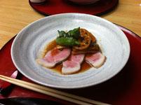 京都府貴船の川床の料理の画像009