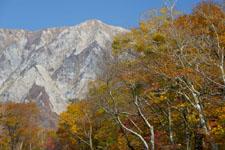 大山の紅葉の画像048