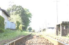 養老渓谷の線路の画像008