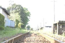 養老渓谷の線路の画像009