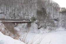 木曽駒高原の雪の画像001