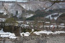 白川郷の橋の画像002